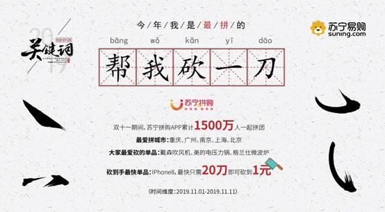 从大数据看你的2019年度关键词,苏宁发布2019年末消费报告